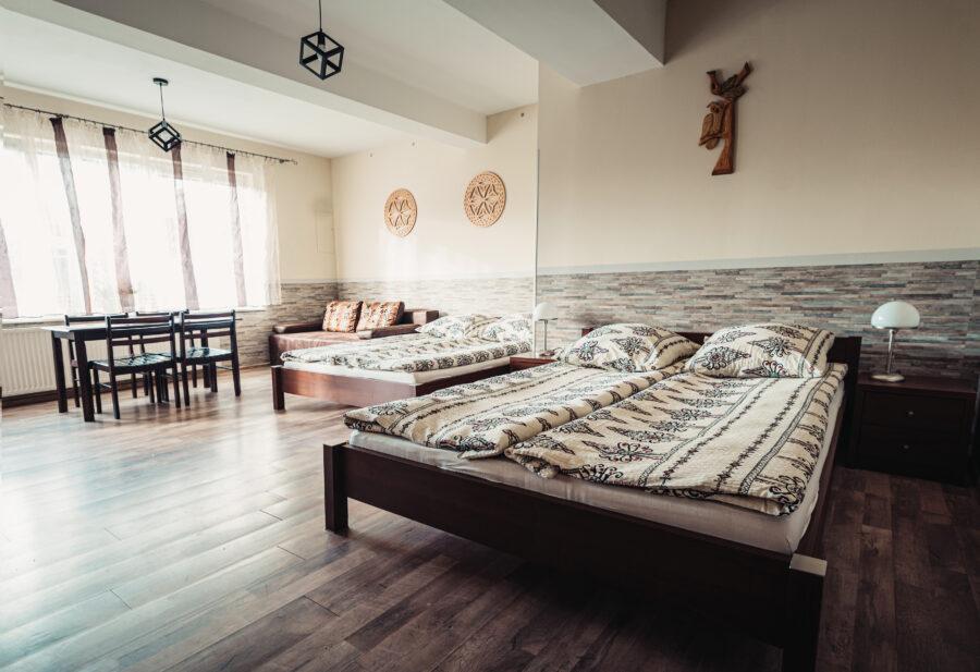 Pokój sześcioosobowy